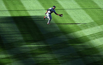 Photograph - Detroit Tigers V Los Angeles Angels Of by Harry How