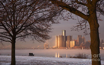 Photograph - Detroit Winter by Jim West