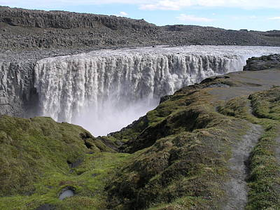Photograph - Dettifoss by Christian Zesewitz