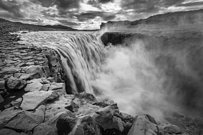 Dettifoss Photograph - Dettifoss Waterfall by Alexey Stiop