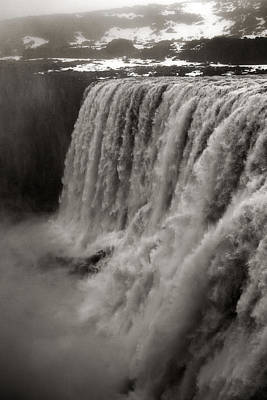 Photograph - Dettifoss Waterfall by For Ninety One Days