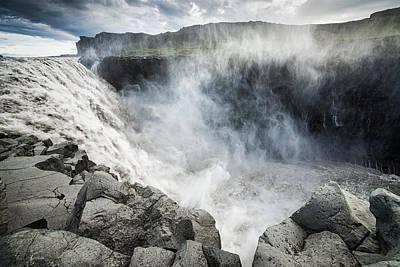 Dettifoss Photograph - Dettifoss Waterfall Iceland Europe by Matthias Hauser