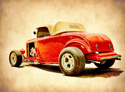 Photograph - Deuce Roadster by Steve McKinzie
