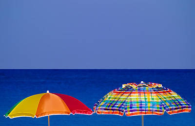 Deuce Umbrellas Art Print