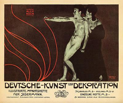 Deutsche Kunst Und Dekoration Print by Georgia Fowler
