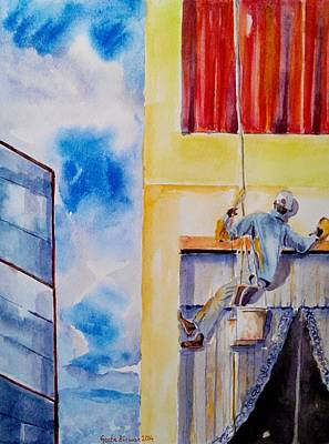 Painting - Developing Country by Geeta Biswas