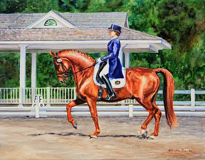 Kristine Painting - Developing Passage by Kristine Plum