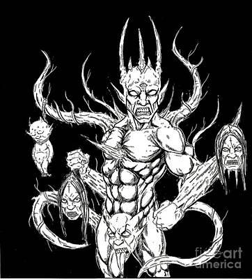 Devil Killer Art Print