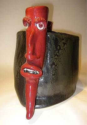 Sculpture - Devil Pepper by Mario MJ Perron