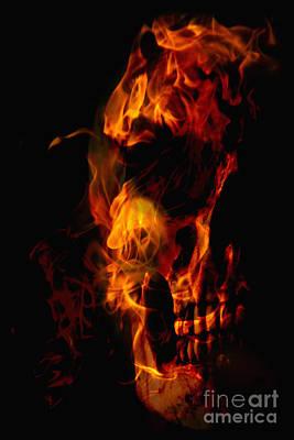 Devil Within Art Print by Margie Hurwich