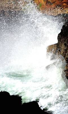 Jerry Sodorff Royalty-Free and Rights-Managed Images - Devils Churn Wave 21366 2 by Jerry Sodorff