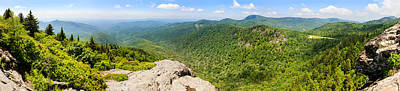 Pisgah Photograph - Devils Courthouse, Appalachian by Panoramic Images