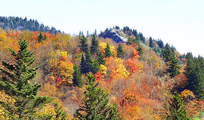 Photograph - Devil's Courthouse In The Fall by Duane McCullough
