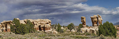 Photograph - Devils Garden Panorama Panel 2 Of 2 by Gregory Scott