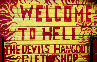 Photograph - Devils Hangout by Caroline Stella