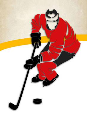Jersey Devil Photograph - Devils Hockey Rink by Joe Hamilton