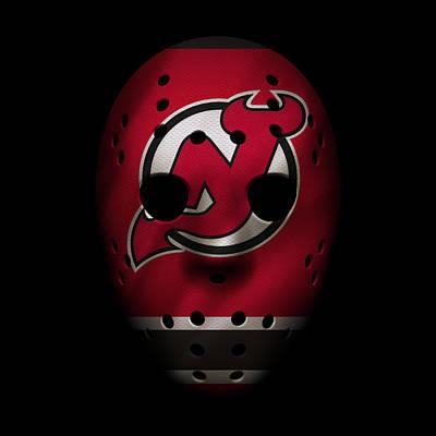 Jersey Devil Photograph - Devils Jersey Mask by Joe Hamilton