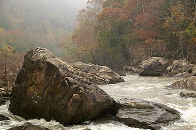 Photograph - Devils Jump Rapids by Byron Jorjorian