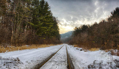 Photograph - Devil's Lake State Park Railroad by Ricky L Jones