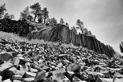 Art Print featuring the photograph Devils Postpile National Monument by Terry Garvin