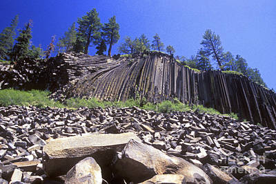 Photograph - Devils Postpile by Paul W Faust -  Impressions of Light