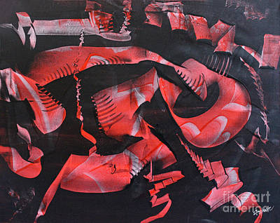 Devil's Run Original by Stephanie Holznecht