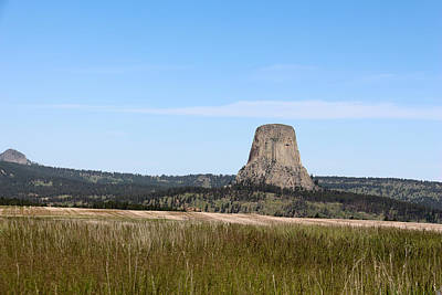 Photograph - Devils Tower 2 by George Jones