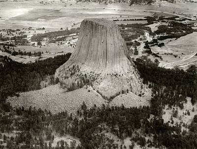 Stratosphere Photograph - Devils Tower by American Philosophical Society