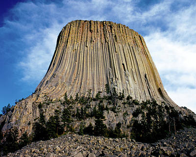 Photograph - Devils Tower by Ed  Riche