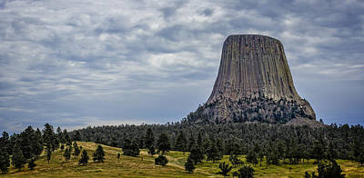 Photograph - Devils Tower In Wyoming by Ray Van Gundy