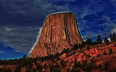 Photograph - Devils Tower Is Off Limits by John M Bailey