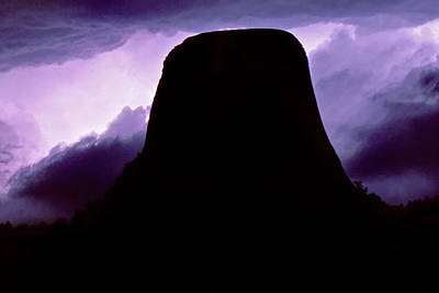 Photograph - Devils Tower by Jason Politte