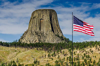 Photograph - Devils Tower National Monument by Debra Martz