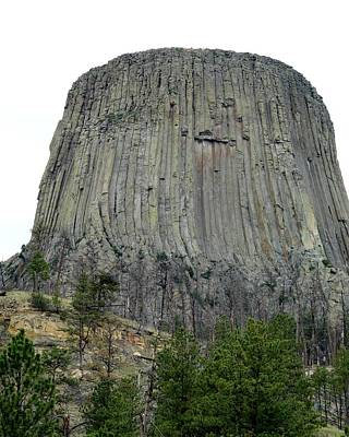 3rd Base Photograph - Devils Tower National Monument by Elizabeth Sullivan