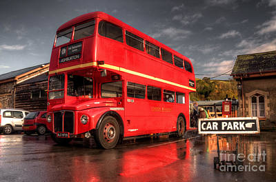 Devon Routemaster  Art Print by Rob Hawkins