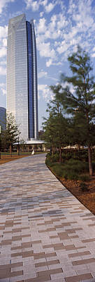 Oklahoma Photograph - Devon Tower In The Downtown, Oklahoma by Panoramic Images