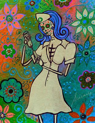Painting - Devoted Nurse by Pristine Cartera Turkus