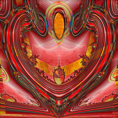 Digital Art - Devotion by Wendy J St Christopher