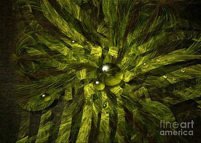 Digital Art - Dewdrops by Alexa Szlavics