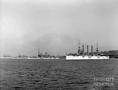 Photograph - Dewey Flag Ship by William Haggart