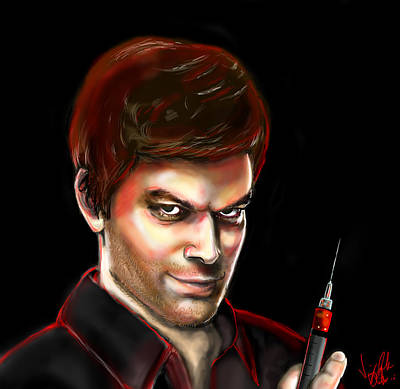 Dexter By Design Art Print by Vinny John Usuriello