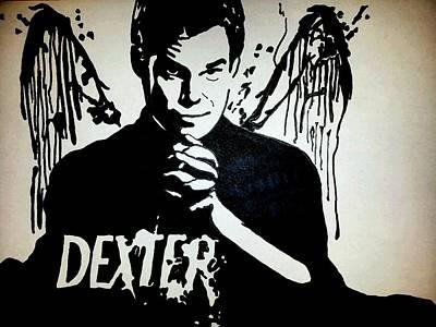 Dexter Drawing - Dexter by Dark designs Sharpie art
