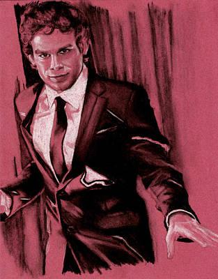 Dexter Drawing - Dexter by Teresa Beveridge