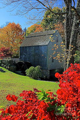 Photograph - Dexter's Grist Mill by Amazing Jules