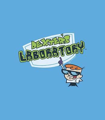 Lab Digital Art - Dexter's Laboratory - Logo by Brand A