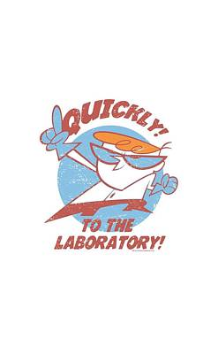 Laboratory Digital Art - Dexter's Laboratory - Quickly by Brand A