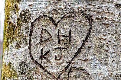 Photograph - Dh Loves Kj by Paul Mashburn