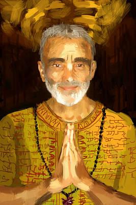 Painting - Dharma Mittra by Chris Brown