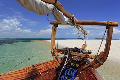 Dhow Photograph - Dhow, Zanzibar, Tanzania, East Africa by Vincenzo Lombardo / Robertharding