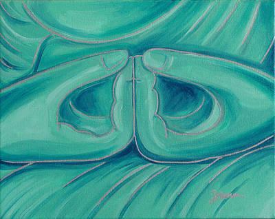 Dhyana Mudra 2 Original by Sabina Espinet